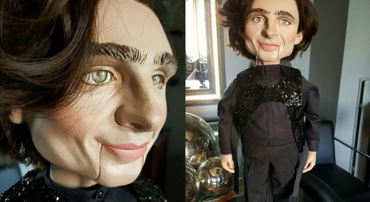 Salt: главное здесь, остальное по вкусу - На eBay появилась жуткая кукла-чревовещатель в образе Тимоти Шаламе — но никто ее не купил