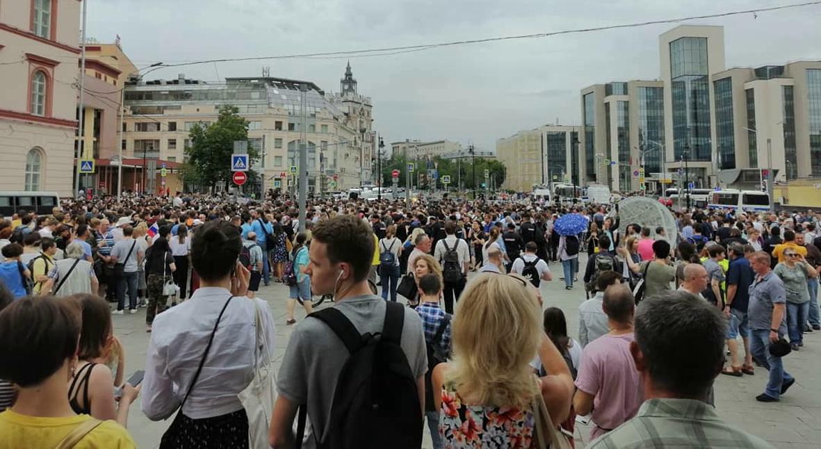 Salt: главное здесь, остальное по вкусу - Сотни человек задержаны на марше в поддержку Ивана Голунова