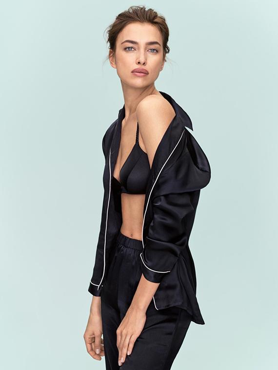 Salt: главное здесь, остальное по вкусу - Простая красота: Ирина Шейк в новой рекламной кампании Intimissimi