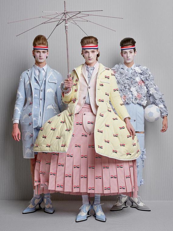 Salt: главное здесь, остальное по вкусу - Балетные пачки, зонтики и сумка-такса:  Thom Browne показал новую мужскую коллекцию в Париже