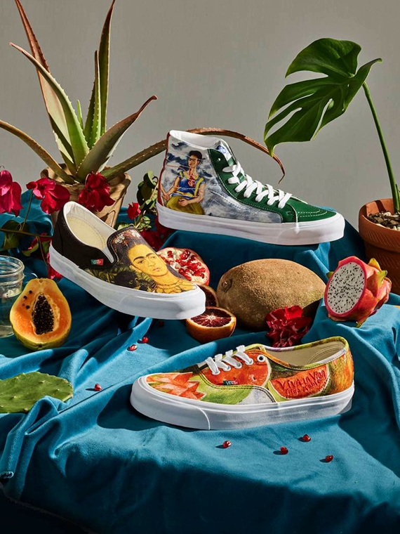 Salt: главное здесь, остальное по вкусу - Vans выпустил коллекцию обуви по мотивам картин Фриды Кало