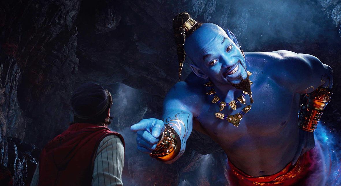 Salt: главное здесь, остальное по вкусу - Погоня, принцесса Жасмин и синий Уилл Смит: новый трейлер «Аладдина» Гая Ричи