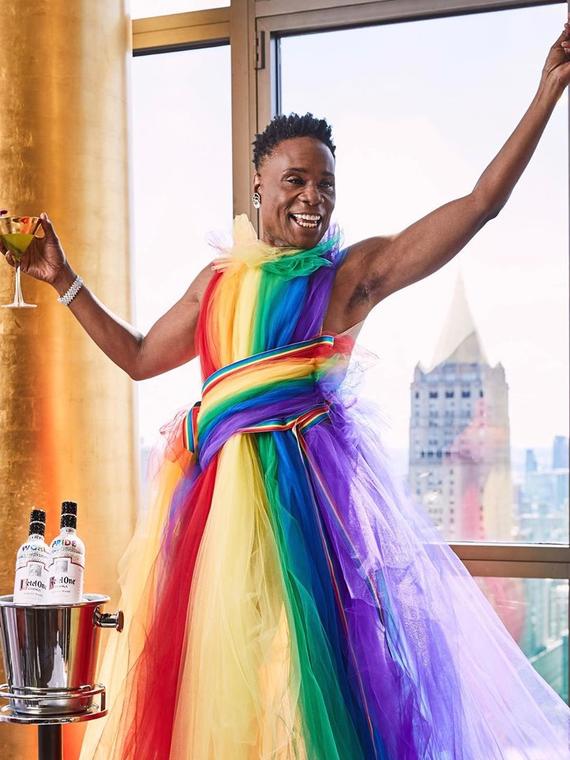 Salt: главное здесь, остальное по вкусу - Мадонна, Ирина Шейк, Билли Портер и другие на крупнейшем ЛГБТ-параде в Нью-Йорке