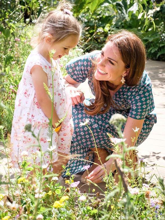 Salt: главное здесь, остальное по вкусу - Кейт Миддлтон устроила пикник для детей в саду, который создала сама