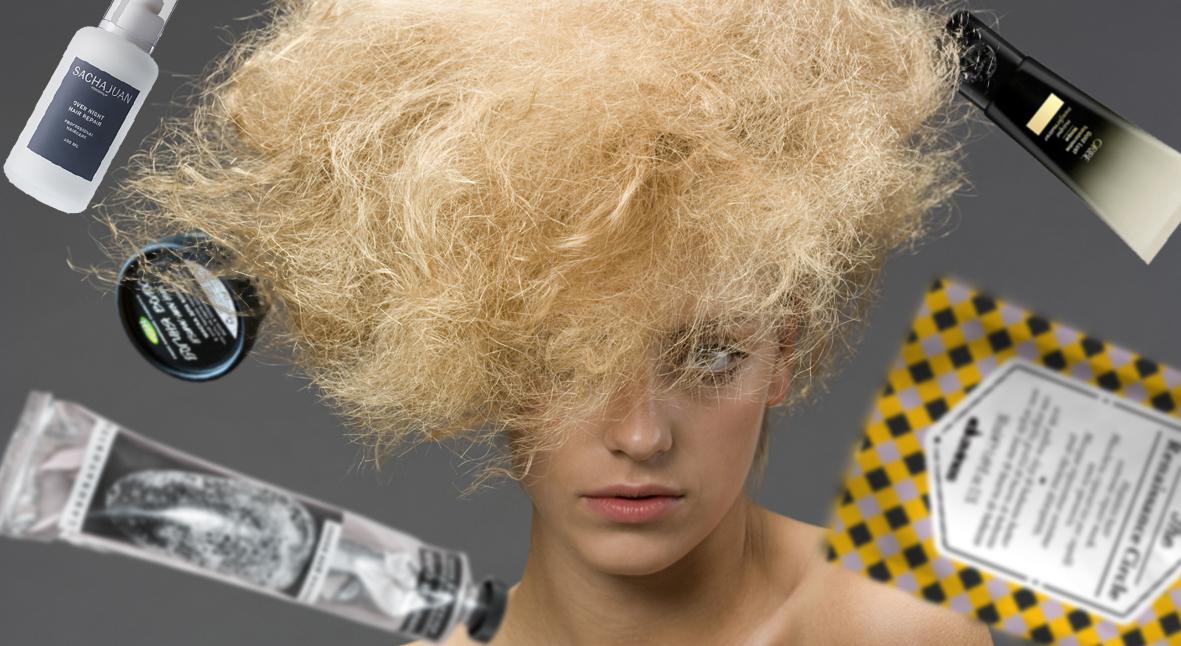 Salt: главное здесь, остальное по вкусу - Как быстро восстановить волосы? 5 масок с wow-эффектом