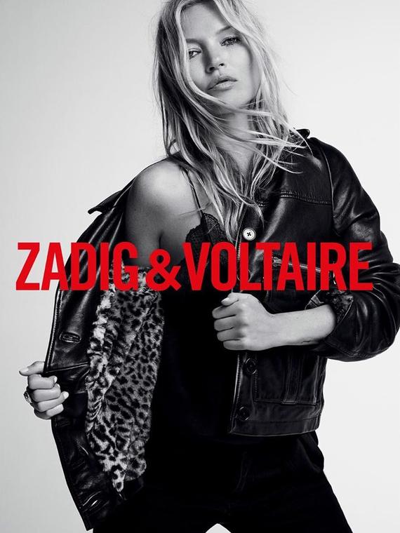 Salt: главное здесь, остальное по вкусу - «Новая муза»: Кейт Мосс стала лицом бренда Zadig & Voltaire