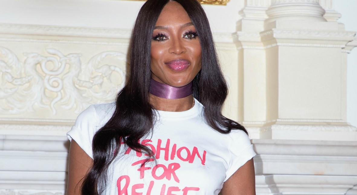 Salt: главное здесь, остальное по вкусу - Наоми Кэмпбелл проведет благотворительный вечер Fashion For Relief на Неделе моды в Лондоне