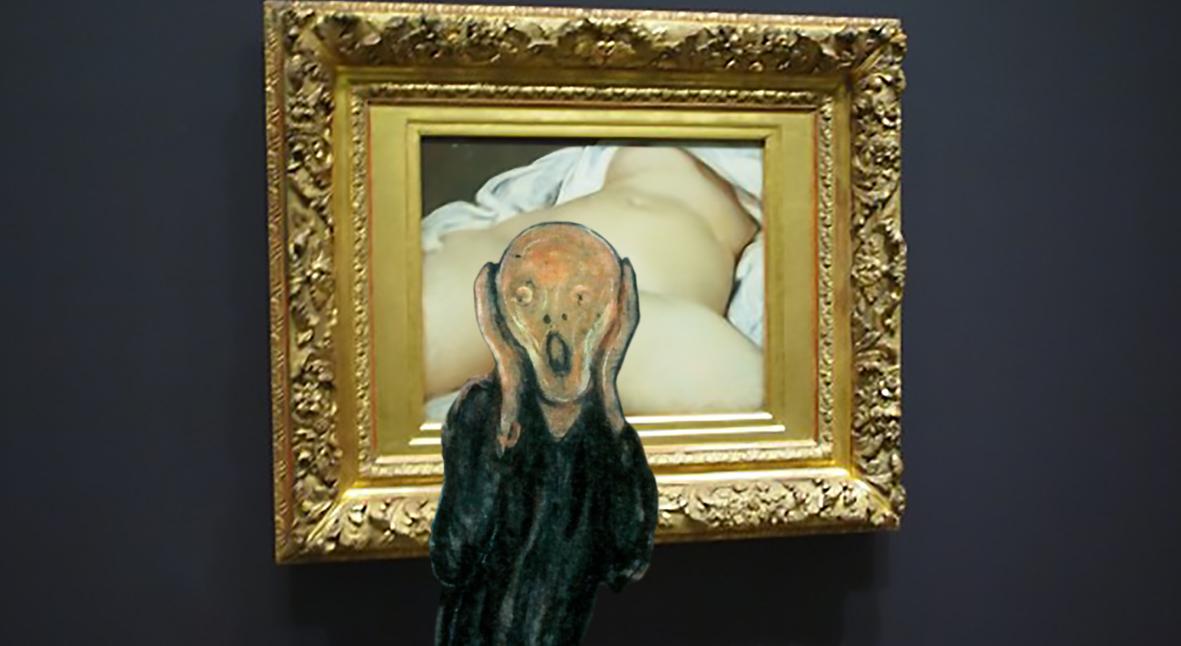 Salt: главное здесь, остальное по вкусу - Творчество между ног: Гюстав Курбе и история вагины в искусстве