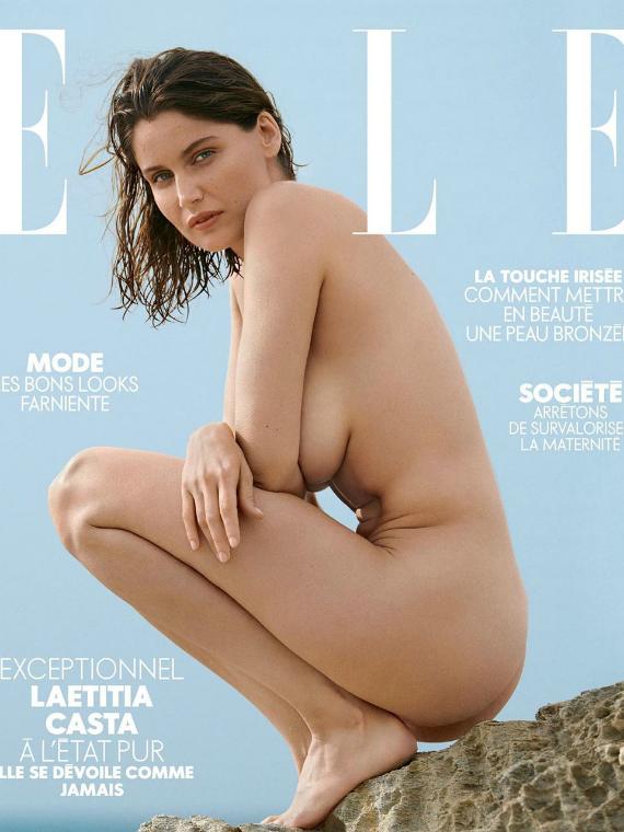 Salt: главное здесь, остальное по вкусу - Летиция Каста снялась обнаженной для обложки французского Elle
