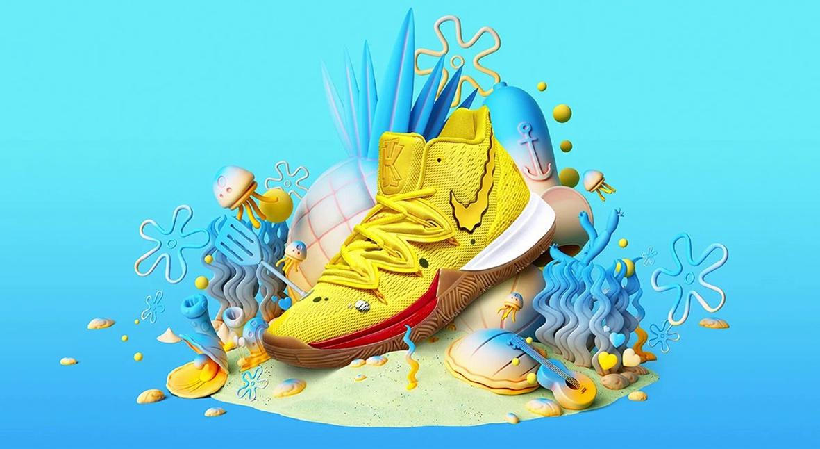 Salt: главное здесь, остальное по вкусу - Nike выпустит линейку кроссовок, посвященную мультсериалу «Губка Боб Квадратные Штаны»