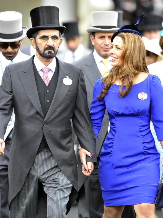 Salt: главное здесь, остальное по вкусу - Шейх Мохаммед и принцесса Хайя сделали официальное заявление о своем разводе