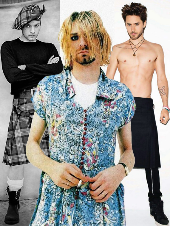Salt: главное здесь, остальное по вкусу - Достоинство под подолом: самые сексуальные мужчины в юбках