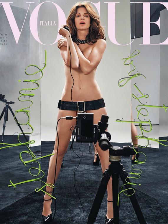 Salt: главное здесь, остальное по вкусу - Стефани Сеймур и Клаудия Шиффер снялись обнаженными для итальянского Vogue