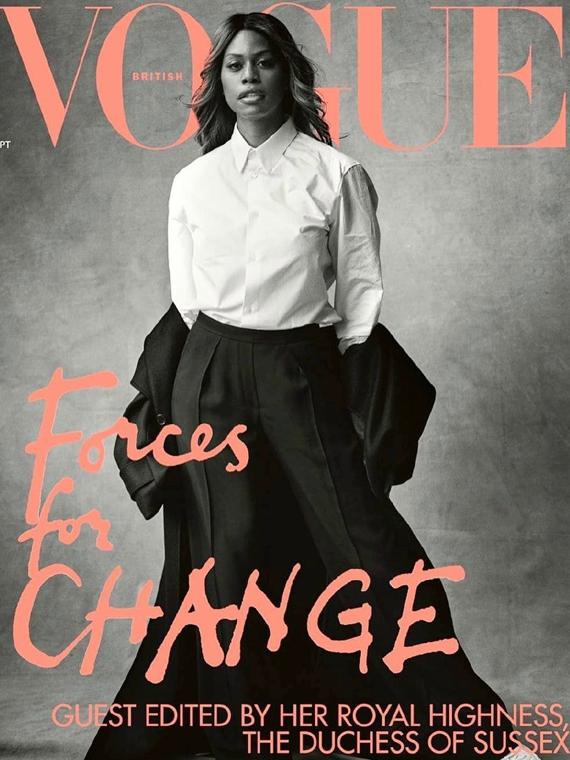Salt: главное здесь, остальное по вкусу - Лаверна Кокс стала первой транс-женщиной на обложке британского Vogue
