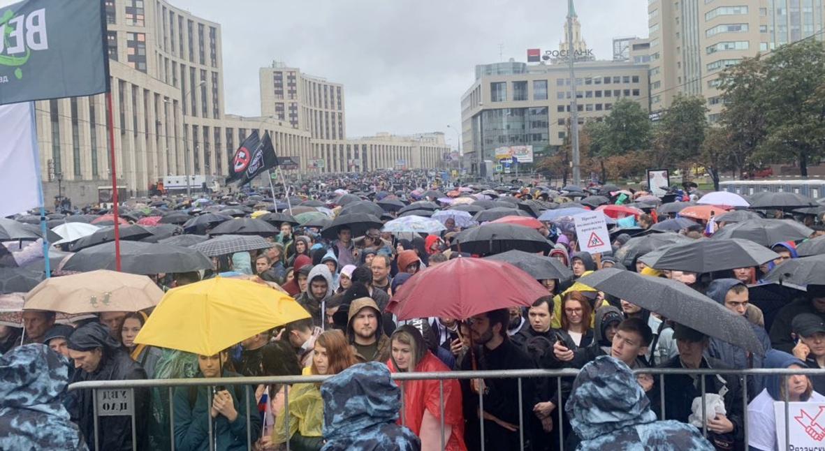 Salt: главное здесь, остальное по вкусу - Oxxxymiron, Face, Дудь и десятки тысяч протестующих на митинге «Вернем себе право на выборы»