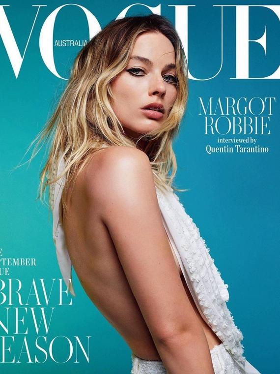 Salt: главное здесь, остальное по вкусу - Марго Робби стала героиней австралийского Vogue
