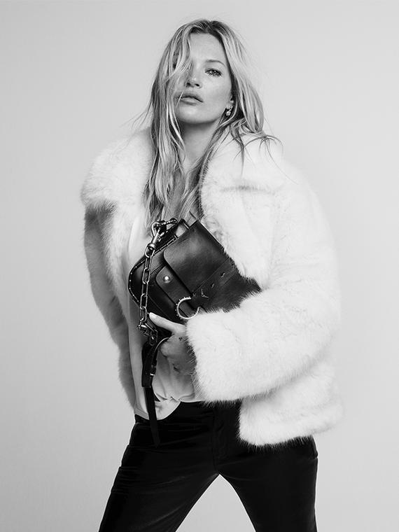 Salt: главное здесь, остальное по вкусу - Кейт Мосс создала коллекцию сумок с брендом Zadig & Voltaire