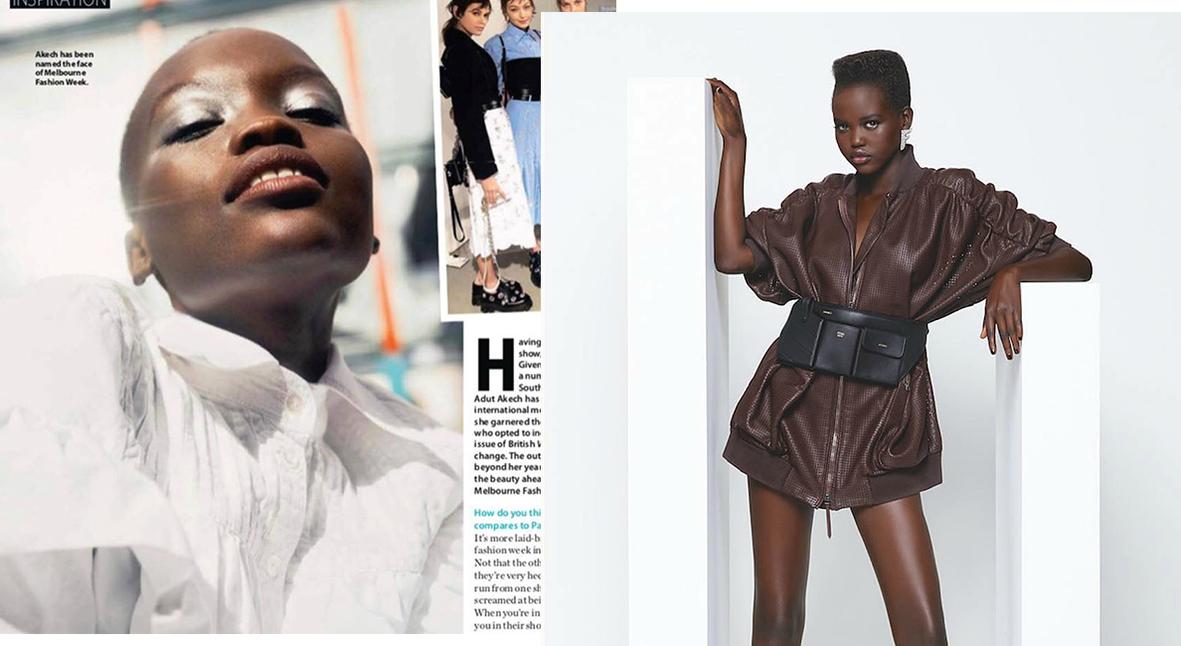 Salt: главное здесь, остальное по вкусу - Журнал Who перепутал Адут Акеч с другой темнокожей моделью
