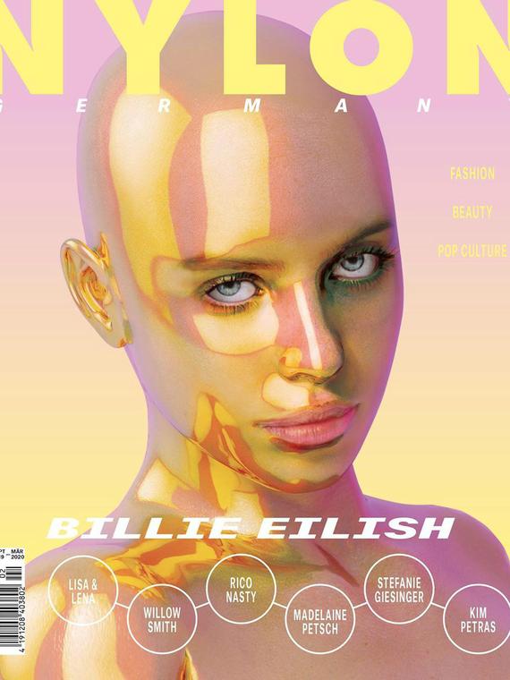 Salt: главное здесь, остальное по вкусу - Nylon Germany сделал обложку с Билли Айлиш — певица заявила, что не давала на это согласия
