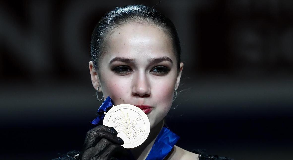 Salt: главное здесь, остальное по вкусу - Алина Загитова — чемпионка мира по фигурному катанию. Евгения Медведева завоевала бронзу