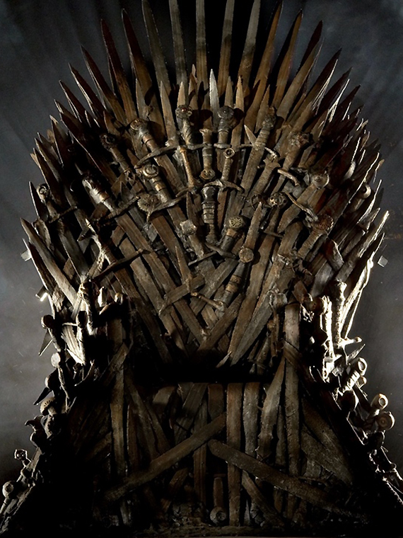 Salt: главное здесь, остальное по вкусу - Найди свой Железный трон: HBO запустил конкурс по «Игре престолов»