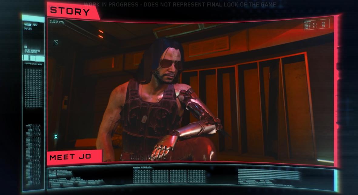 Salt: главное здесь, остальное по вкусу - Разработчики Cyberpunk 2077 опубликовали геймплей-видео — и в нем есть персонаж Киану Ривза