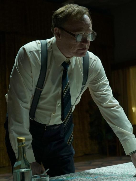 Salt: главное здесь, остальное по вкусу - Эмили Уотсон и Стеллан Скарсгард в трейлере сериала «Чернобыль»