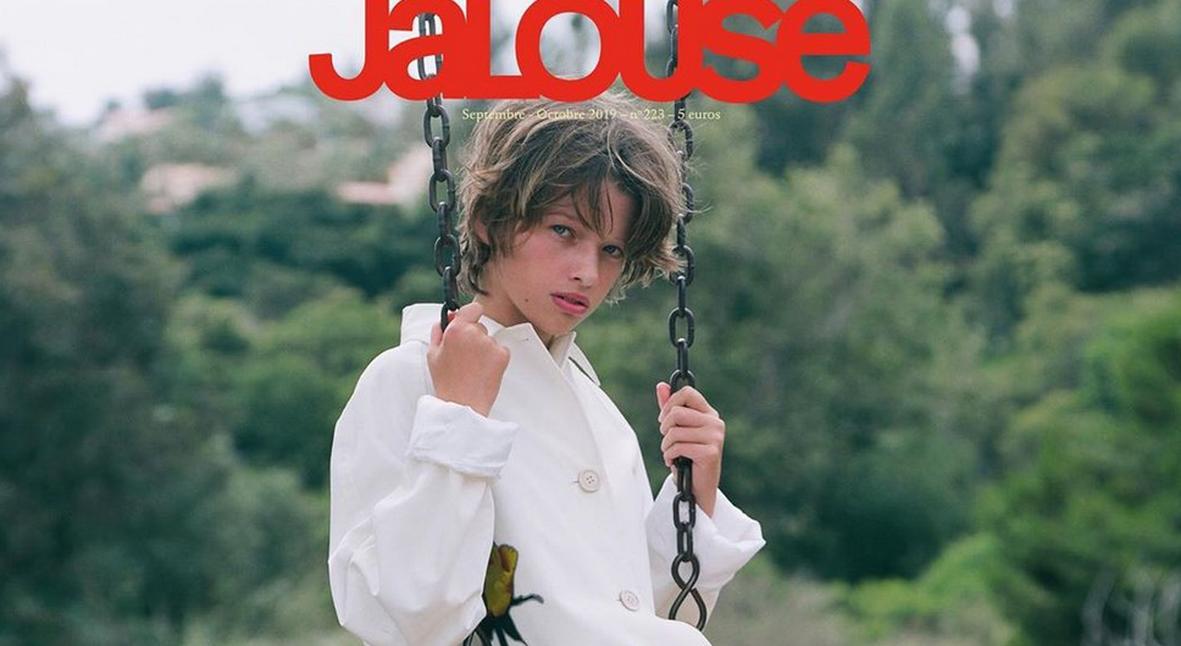 Salt: главное здесь, остальное по вкусу - 11-летняя дочь Миллы Йовович дебютировала на обложке журнала