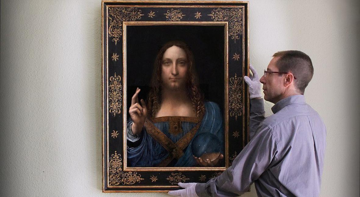 Salt: главное здесь, остальное по вкусу - Пропала картина Леонардо да Винчи «Спаситель мира» стоимостью $450 миллионов