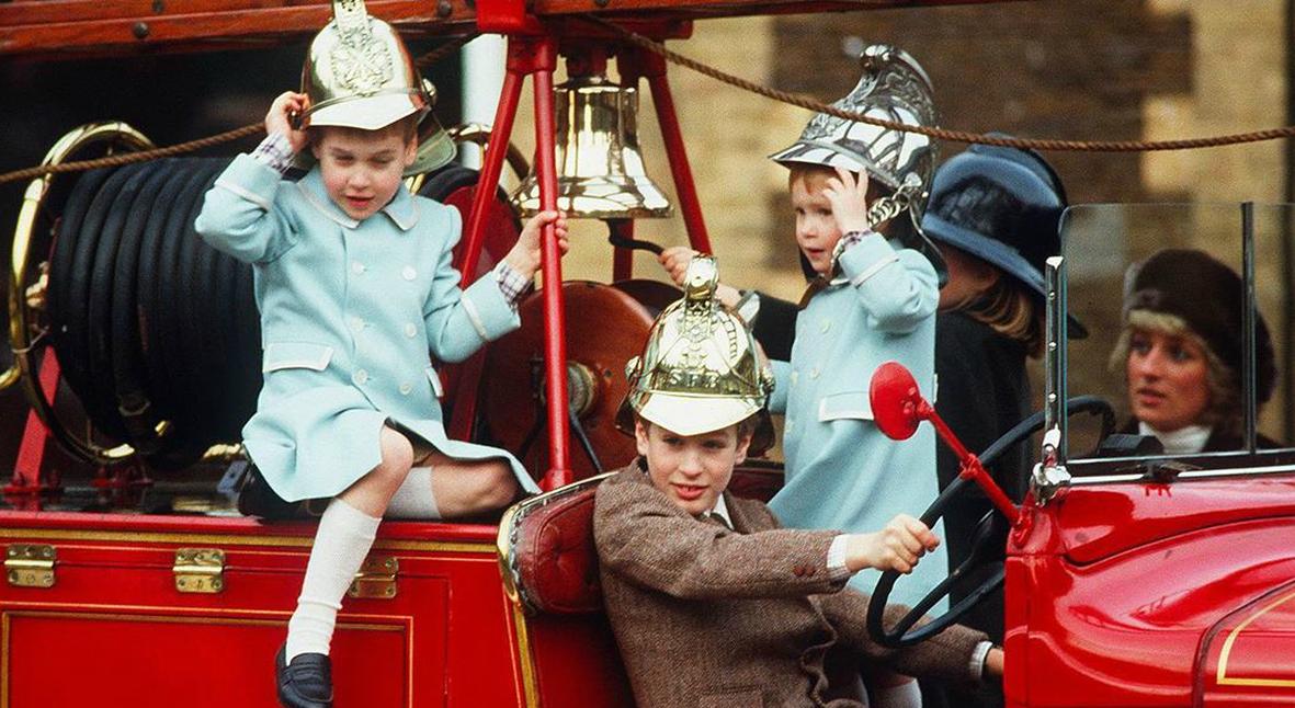 Salt: главное здесь, остальное по вкусу - Принц Уильям показал архивный снимок с Гарри и принцессой Дианой