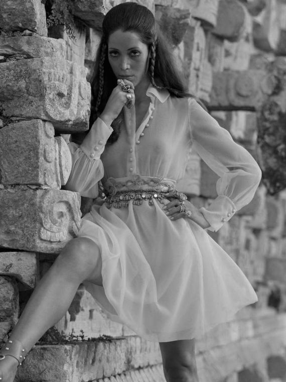 Salt: главное здесь, остальное по вкусу - Умерла Марина Скиано — модель и муза Ива Сен-Лорана