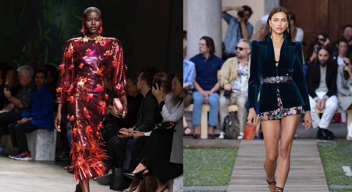 Salt: главное здесь, остальное по вкусу - Неделя моды в Милане: новый стиль бохо от Etro и новые тропики от Versace