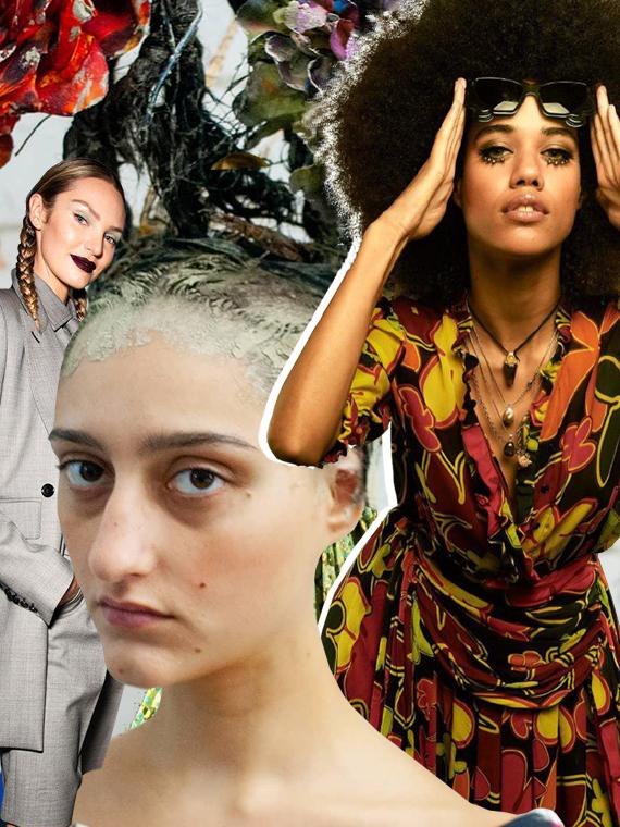 Salt: главное здесь, остальное по вкусу - Шиньоны, Пикассо и мировая экология:  лучшие бьюти-образы Недели моды в Милане