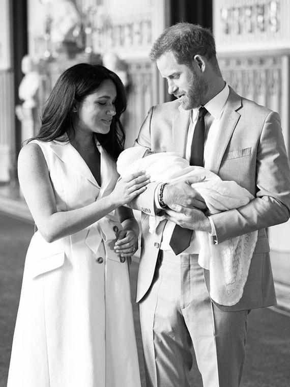 Salt: главное здесь, остальное по вкусу - Меган Маркл и принц Гарри сделали первое пожертвование от лица четырехмесячного сына