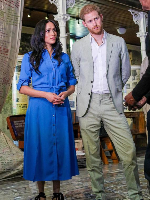 Salt: главное здесь, остальное по вкусу - Меган Маркл и принц Гарри посетили музей в Кейптауне и пляж Монвабиси