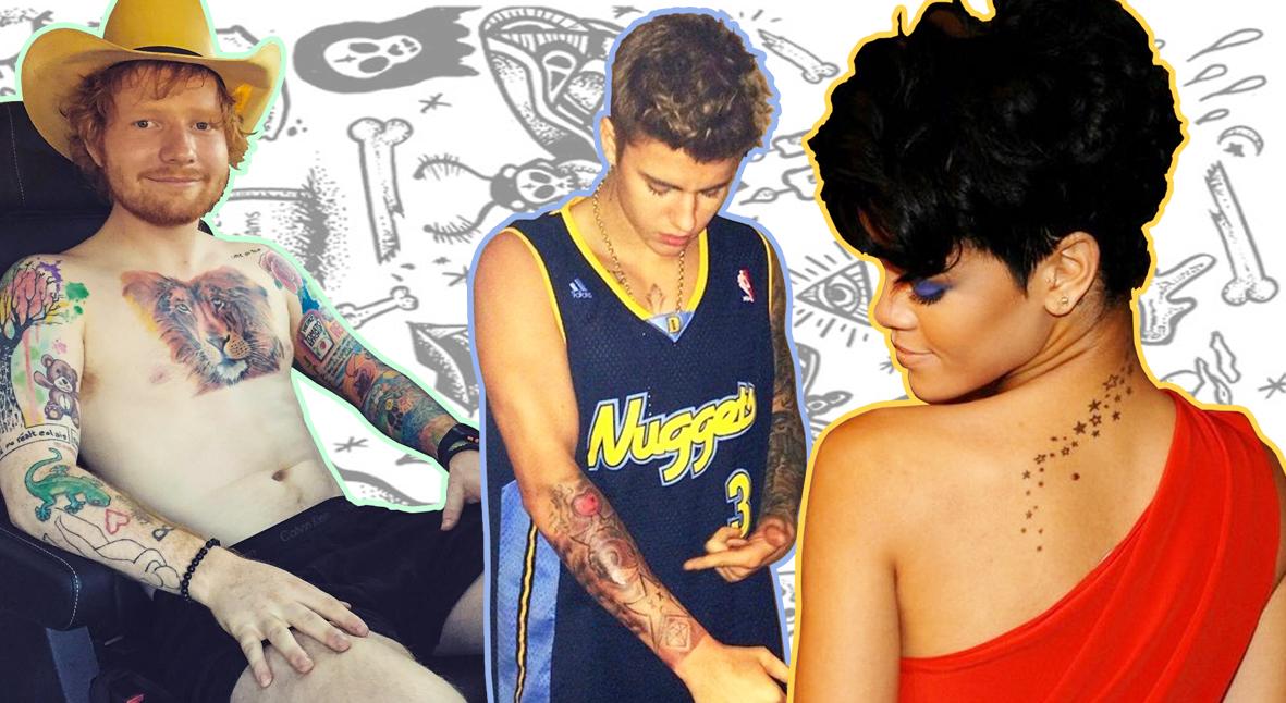 Salt: главное здесь, остальное по вкусу - Татуировки звезд: кому доверяют свое тело знаменитости