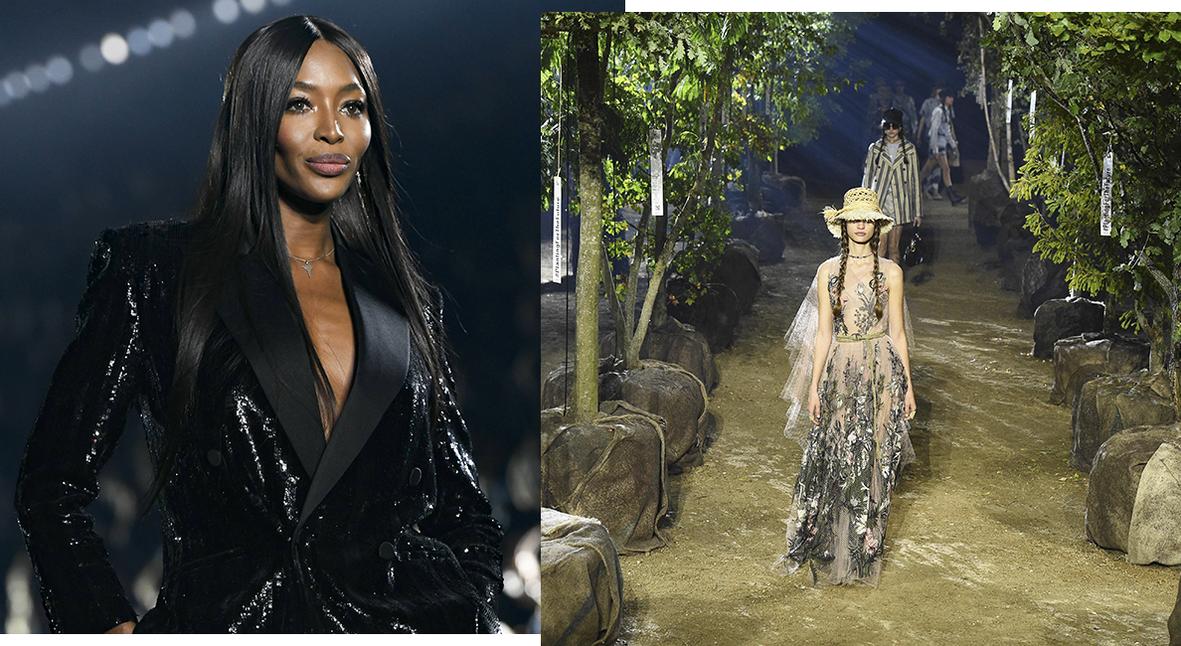 Salt: главное здесь, остальное по вкусу - Неделя моды в Париже: мистический сад Dior, Наоми Кэмпбелл на Saint Laurent и Koché в библиотеке