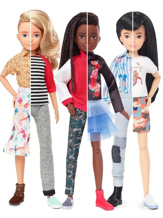 Salt: главное здесь, остальное по вкусу - Mattel выпустили серию гендерно-нейтральных кукол