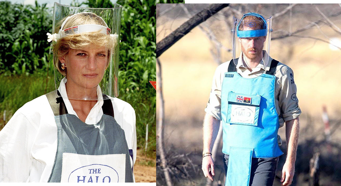Salt: главное здесь, остальное по вкусу - Принц Гарри посетил заминированные поля в Анголе — там же была принцесса Диана 22 года назад