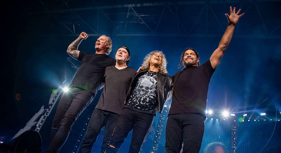 Salt: главное здесь, остальное по вкусу - Metallica отменила международный тур из-за курса реабилитации Джеймса Хетфилда