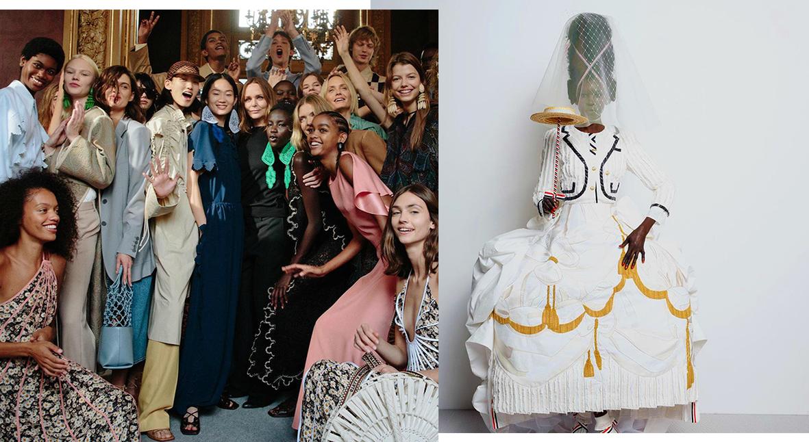Salt: главное здесь, остальное по вкусу - Неделя моды в Париже: платья Valentino, перформанс Thom Browne и дикая природа на Stella McCartney