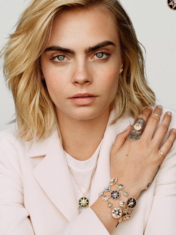 Salt: главное здесь, остальное по вкусу - Кара Делевинь стала лицом ювелирной линии Dior