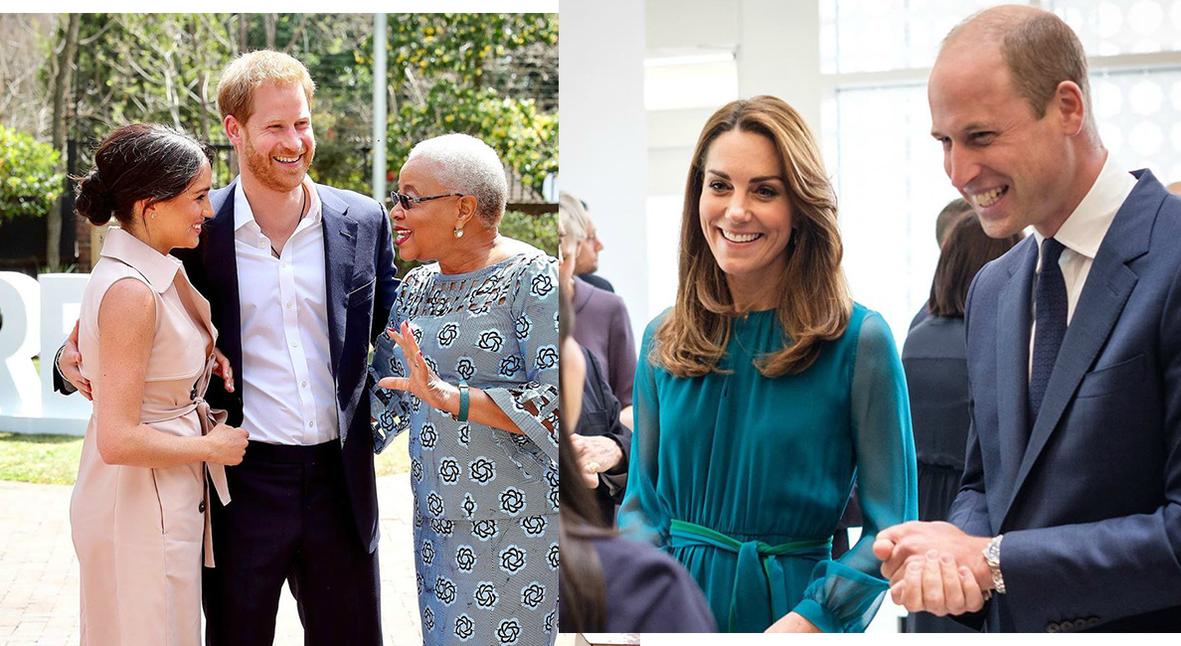 Salt: главное здесь, остальное по вкусу - Королевские выходы: Кейт Миддлтон посетила центр культуры, Меган Маркл встретилась с вдовой Нельсона Манделы
