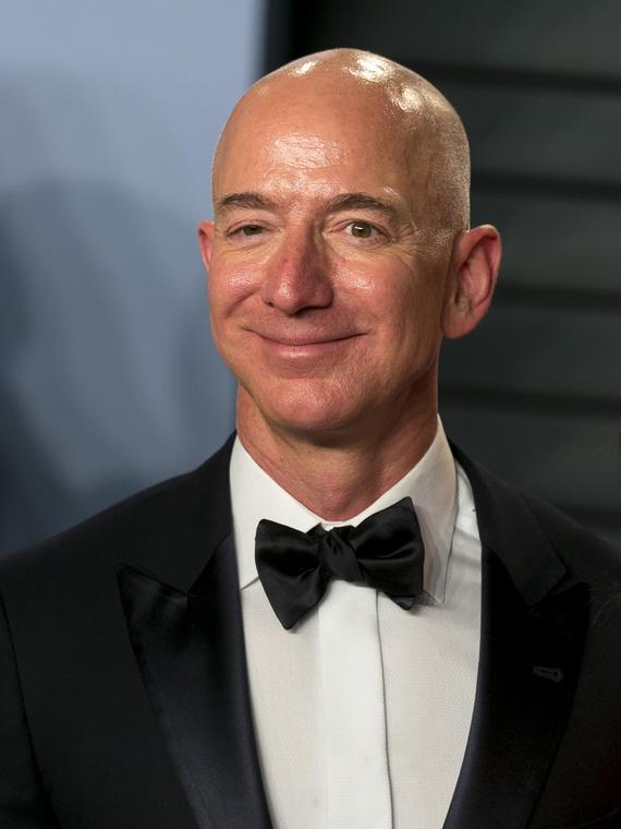Salt: главное здесь, остальное по вкусу - Глава Amazon Джефф Безос вновь стал богатейшим американцем по версии Forbes