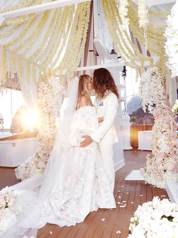 Salt: главное здесь, остальное по вкусу - «Это было волшебно»: Хайди Клум рассказала подробности о свадьбе с Томом Каулитцем