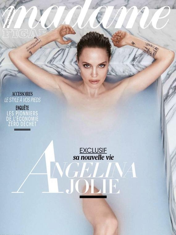Salt: главное здесь, остальное по вкусу - «Я потеряла себя»: Анджелина Джоли рассказала, как переживала развод с Брэдом Питтом