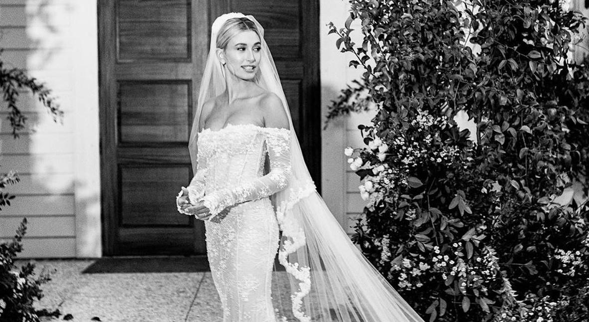 Salt: главное здесь, остальное по вкусу - Платье от Вирджила Абло и кольца: Хейли Бибер показала фото со свадьбы