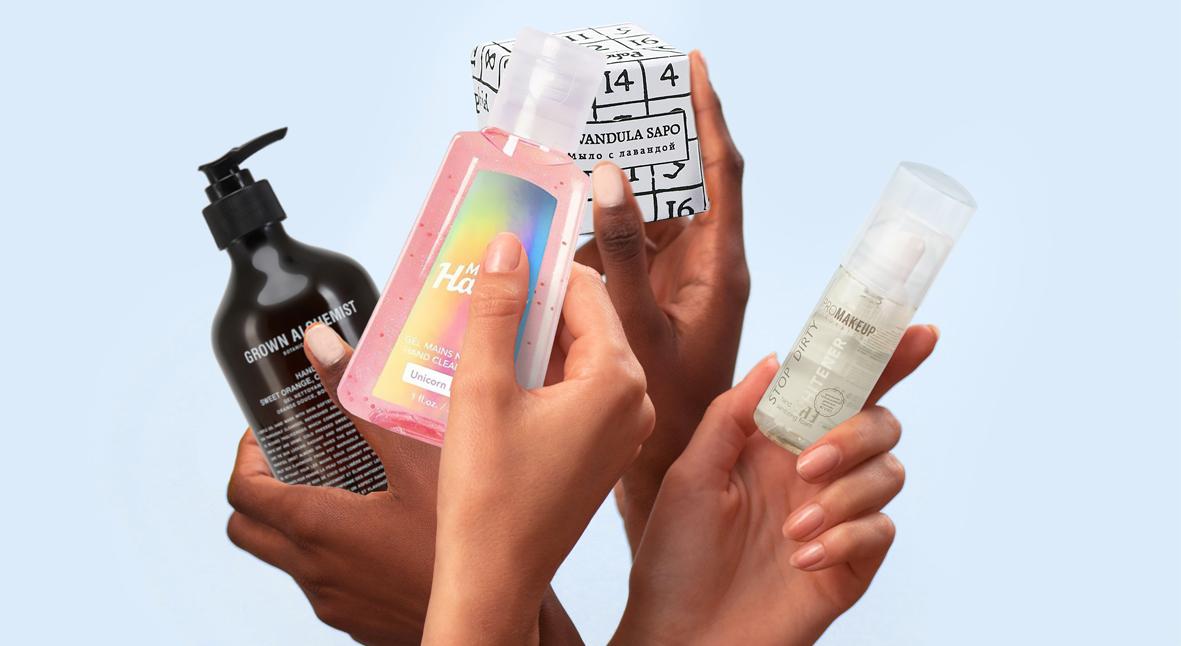 Salt: главное здесь, остальное по вкусу - Мыло, гели, санитайзеры: 10 средств для чистых рук