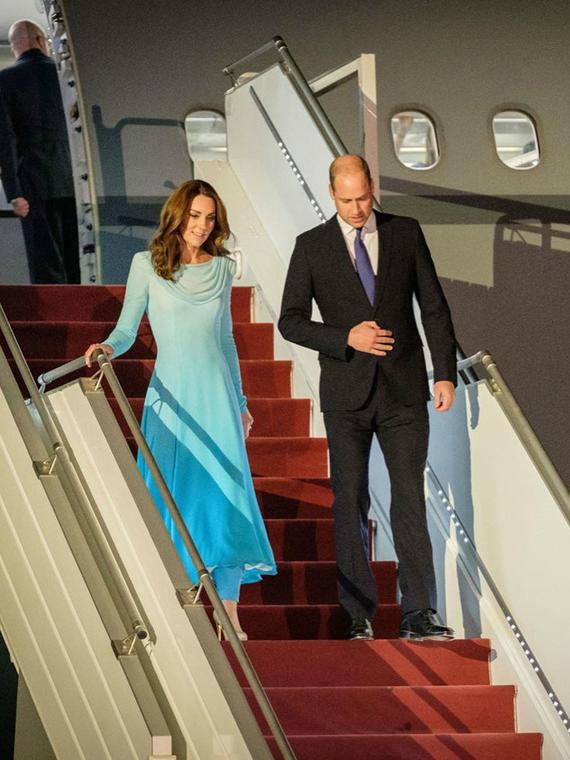 Salt: главное здесь, остальное по вкусу - Королевский тур: Кейт Миддлтон и принц Уильям прибыли в Пакистан