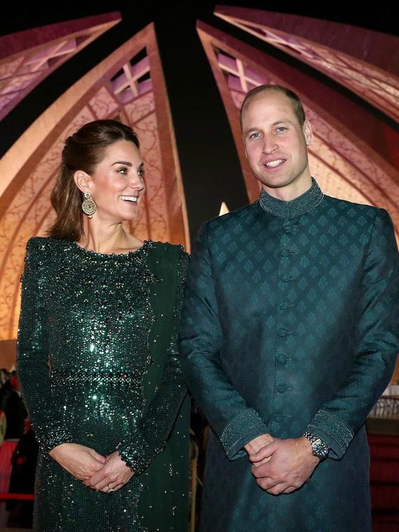 Salt: главное здесь, остальное по вкусу - Принц Уильям и Кейт Миддлтон посетили прием в Исламабаде и осмотрели тающий ледник